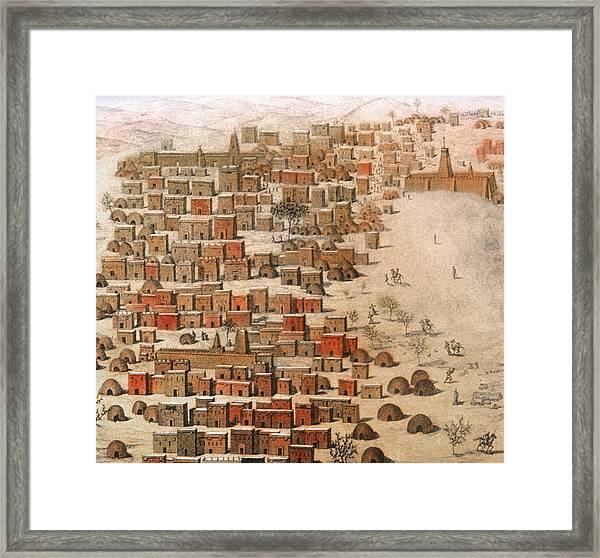 Timbuktu, 1830 Framed Print