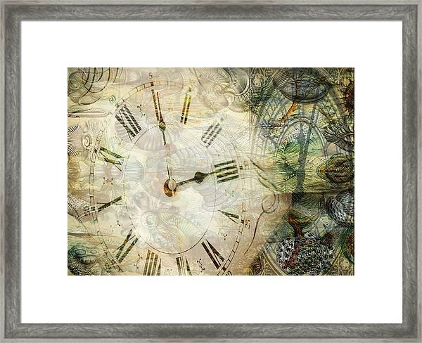Time After Time Framed Print