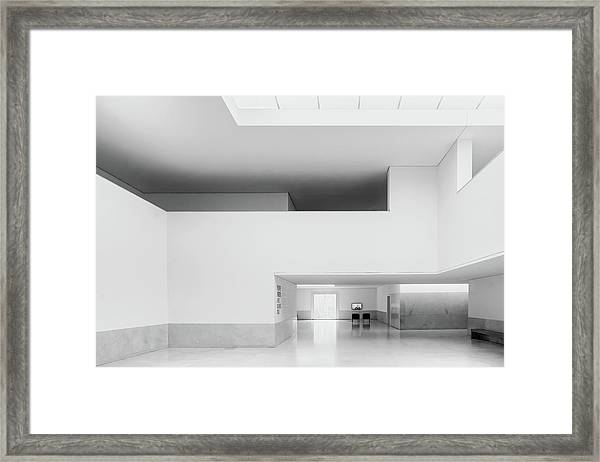 Time Coloured Space Framed Print by Luc Vangindertael (lagrange)