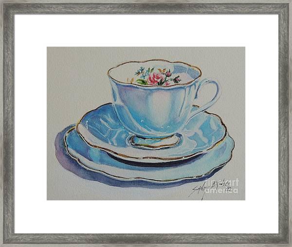 Time For Tea Sold Framed Print