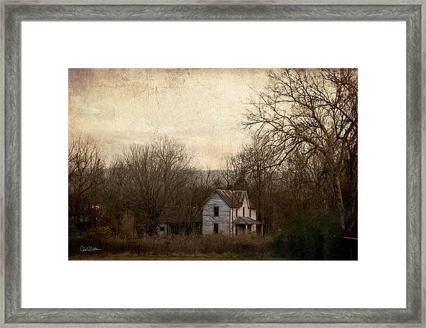 Time Gone By Framed Print