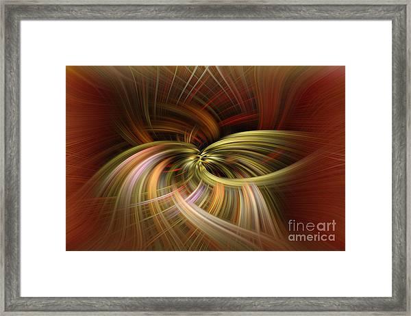 Time Warp Framed Print