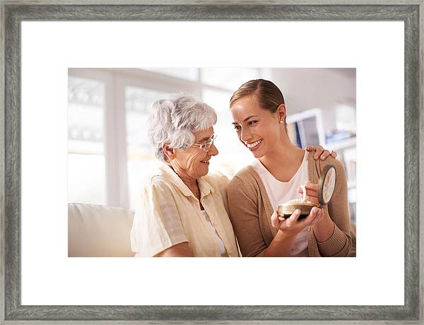 Timeless Memories Framed Print by PeopleImages