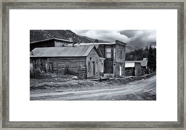 Tin Cup Main Street Framed Print