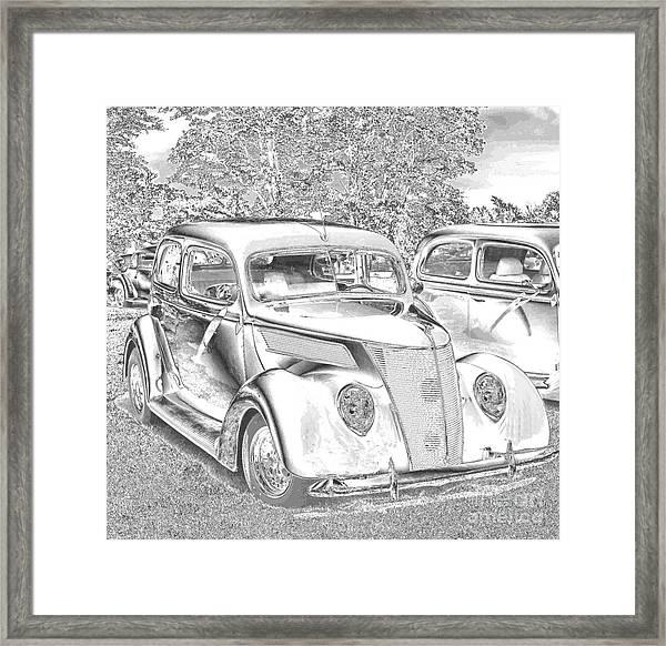 Tin Lizzie Ford Framed Print