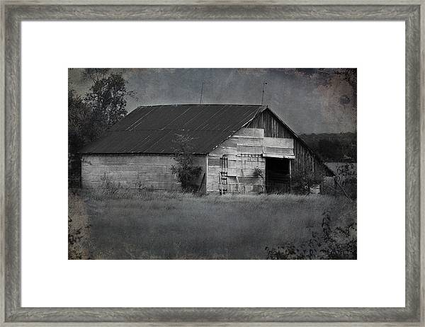 Tin Top Framed Print
