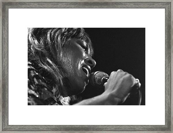 Tina Turner 1 Framed Print