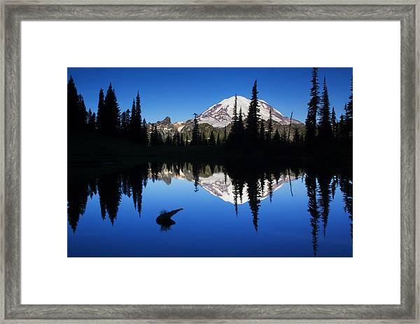 Tipsoo Sunrise Framed Print