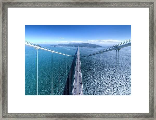 To An Island Framed Print