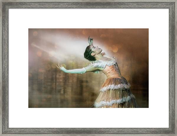 To Dance Framed Print by Charlaine Gerber