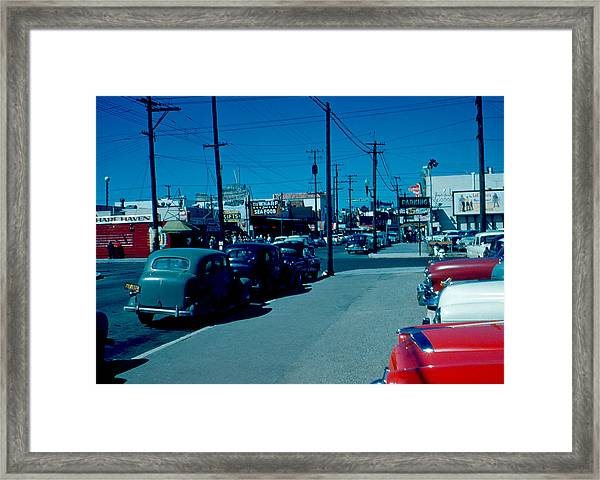 To Fisherman's Wharf 1955 Framed Print by Cumberland Warden