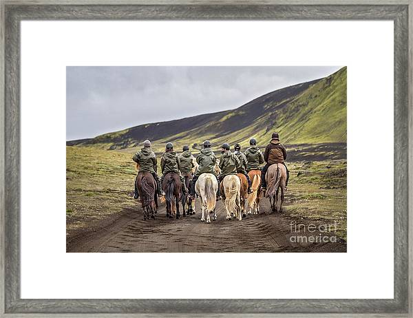 To Ride The Paths Of Legions Unknown Framed Print