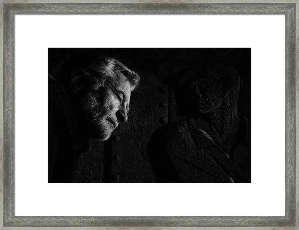 To Sleep Perchance To Dream Framed Print