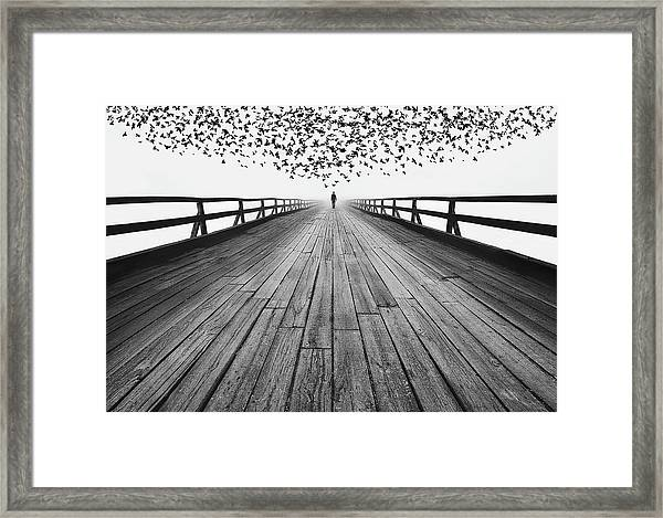 To The End Framed Print by Mandru Cantemir