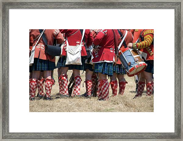 To The Feet Of A Differant Drummer Framed Print