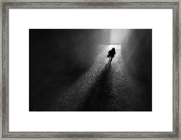 To The Light Framed Print