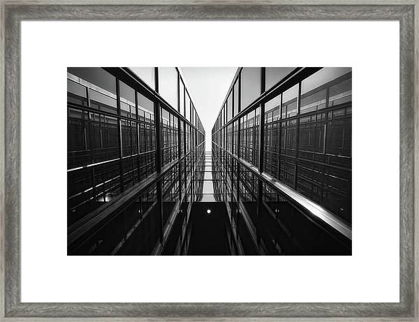 To The Vague World Framed Print