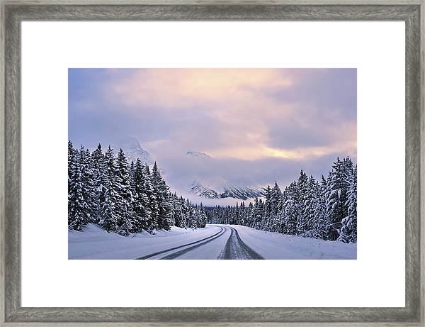 To The Wonderland Framed Print by Mei Xu