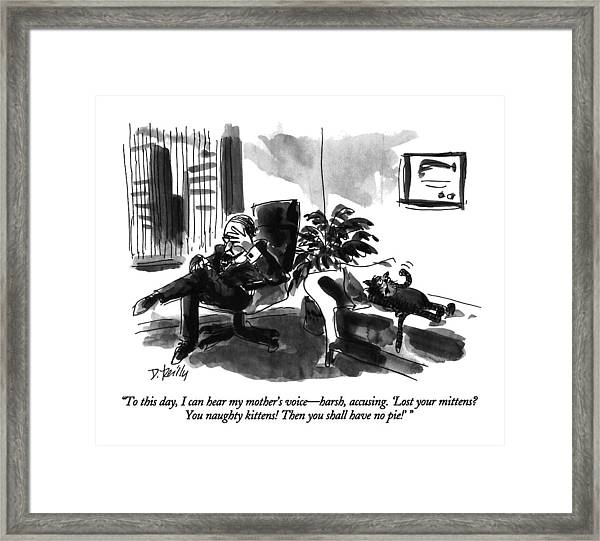 To This Day Framed Print