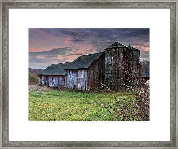 Tobin's Barn Framed Print