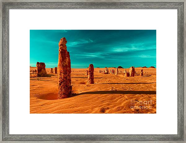 Together We Stand Framed Print