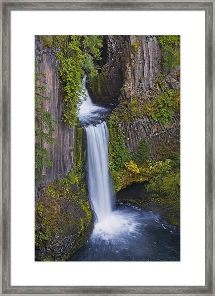 Toketee Falls Framed Print