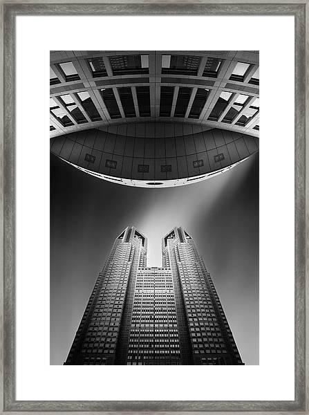 Tokyo Connection Mk.iii Framed Print