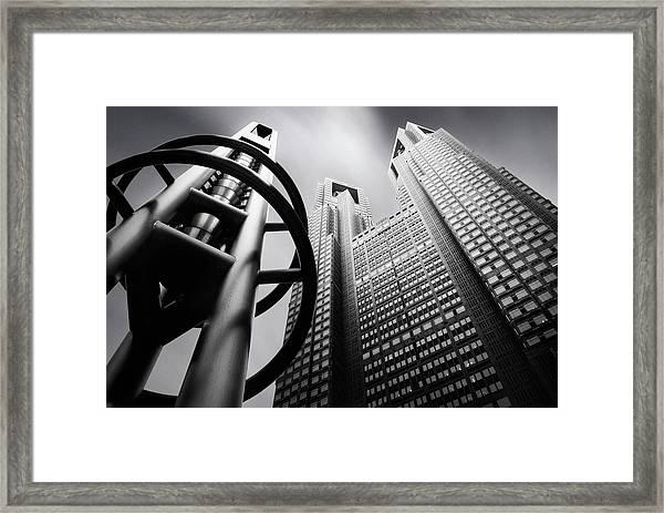 Tokyo Connection Mk.iv Framed Print