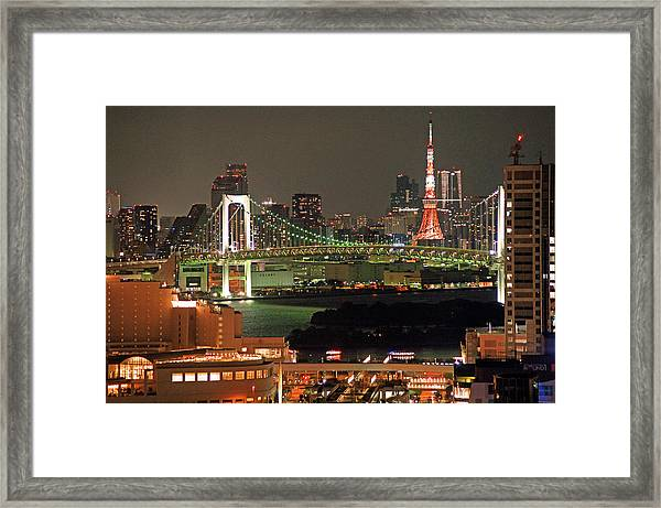 Tokyo Tower Framed Print