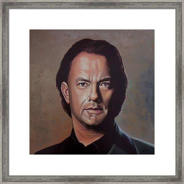 Tom Hanks Framed Print