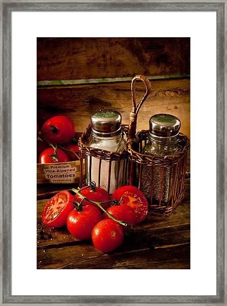Tomatoes3676 Framed Print