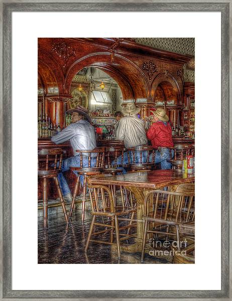 Tombstone Cowboys Framed Print