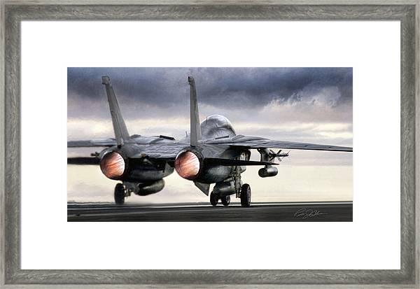 Tomcat Launch Framed Print