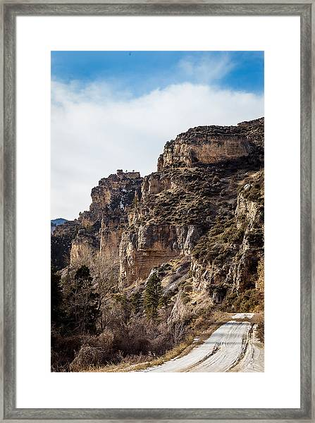 Tongue River Canyon Framed Print