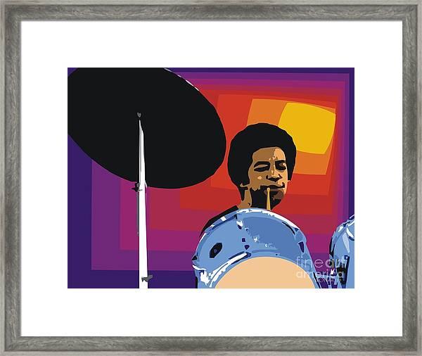 Tony Williams Framed Print
