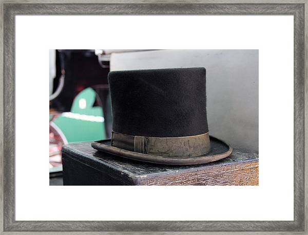Top Hat Framed Print