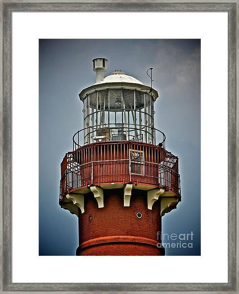 Top Of Barney 2012 Framed Print
