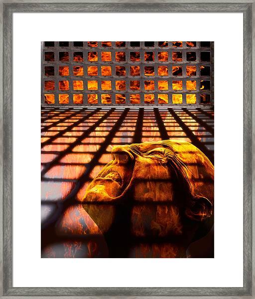 Tormented Soul Framed Print