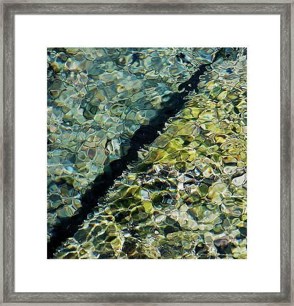 Tornillo Texture Framed Print