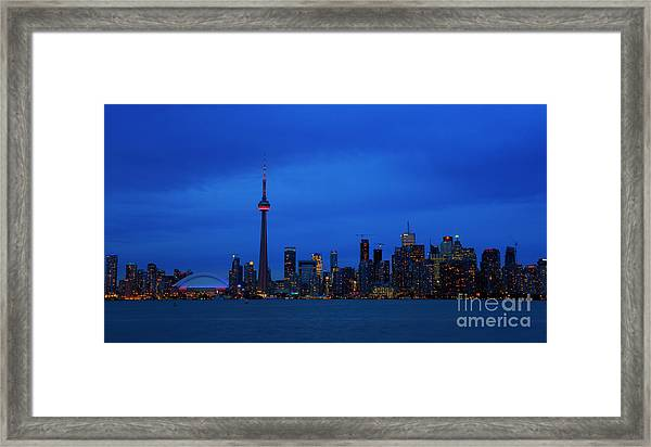 Toronto Blues... Framed Print