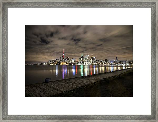 Toronto Sunset Framed Print