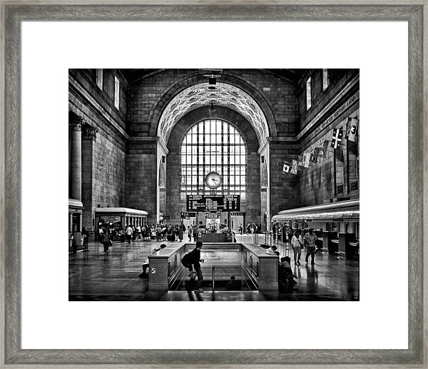 Toronto Union Station 323pm Framed Print