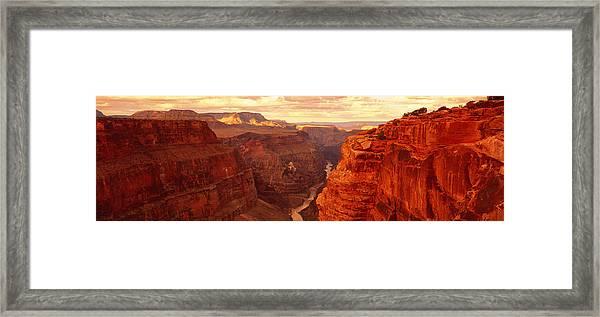 Toroweap Point, Grand Canyon, Arizona Framed Print