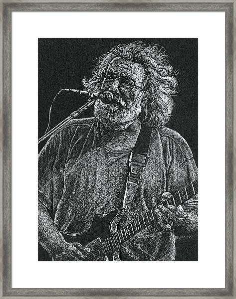 Touch Of Grey Framed Print