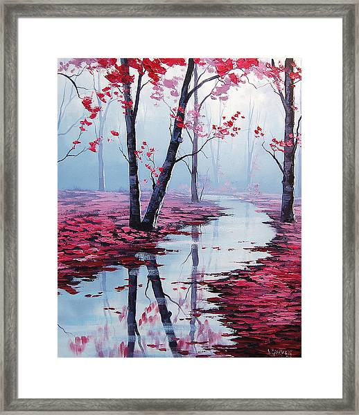 Touch Of Heaven Framed Print