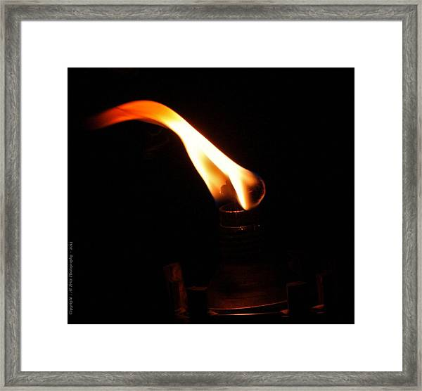 Touch Of Light Framed Print by Al Fritz