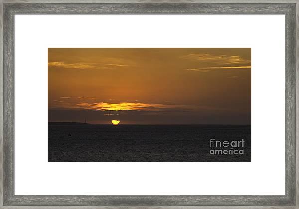 Touchdown Framed Print by Nigel Jones