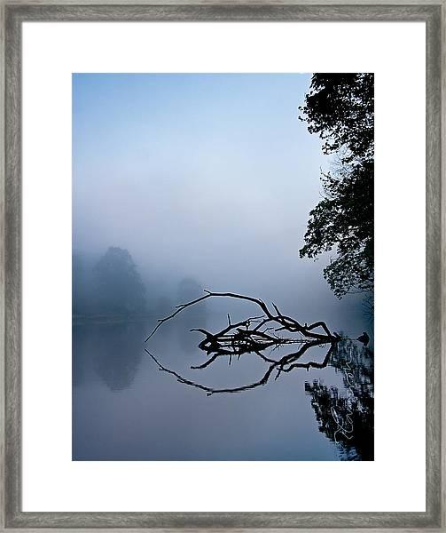 Touche Framed Print