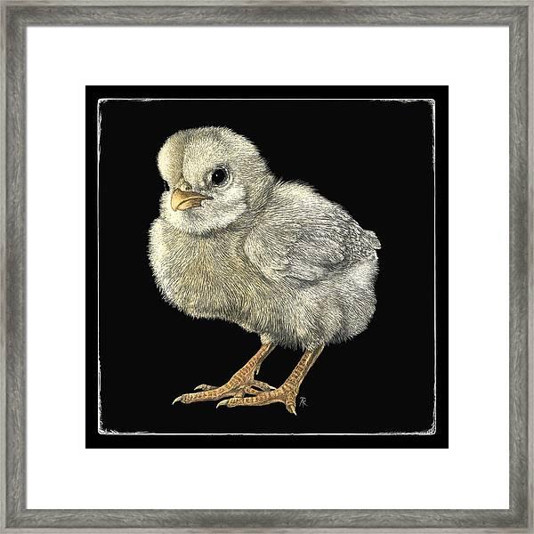 Tough Chick Framed Print