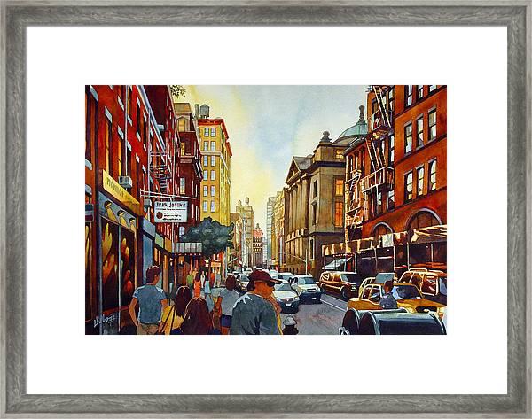 Tourist Season Framed Print